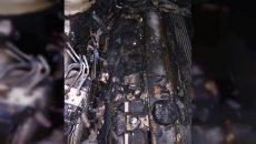 Под Смоленском водитель сам потушил горящий автомобиль