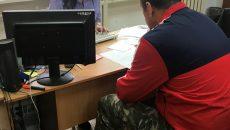 В Смоленске задержанного за взятку сотрудника колонии сняли на видео
