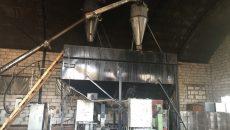 Под Смоленском загорелся деревообрабатывающий цех