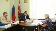Алексей Островский поможет смоленским погорельцам