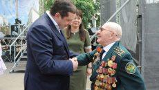 Алексей Островский поздравил вязьмичей с 780-летием города