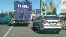 В Смоленске авария с «Газелью» создала затор на повороте к промзоне