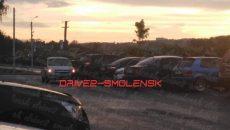 В Смоленске две машины попали в ДТП на парковке набережной