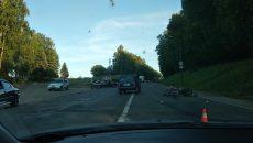 В ГИБДД рассказали, кто виноват в жесткой аварии с мопедом в Смоленске