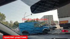 Под Смоленском ДТП затруднило движение на федеральной трассе