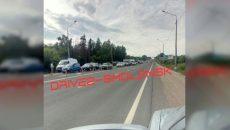 В Смоленске авария создала огромный затор