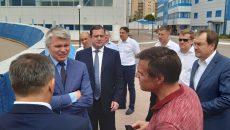 Министр спорта России приехал в Смоленск
