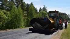 В Смоленской области начался ремонт дороги, соединяющей три районных центра