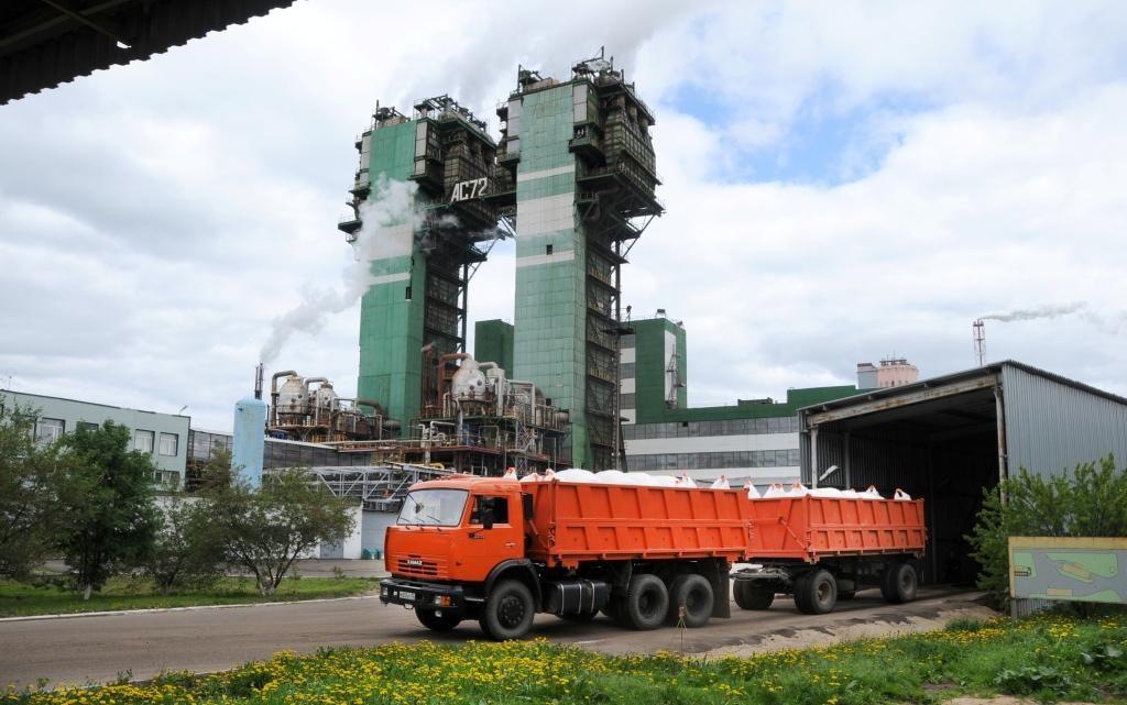 ПАО «Дорогобуж», отгрузка минеральных удобрений (фото vk.com acronpjsc)