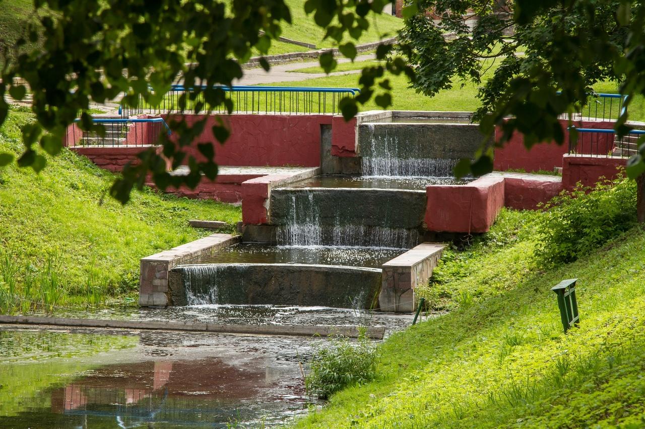 Стало известно, когда заработает водяной каскад в центре Смоленска