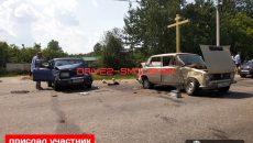 В Смоленске произошло жесткое ДТП с тремя авто