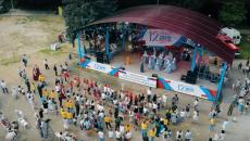 В Смоленске празднование Дня России сняли с высоты птичьего полета
