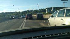 В Смоленске ДТП на мосту стало причиной серьезного затора