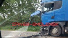 Страшное ДТП с фурой произошло под Смоленском — очевидцы
