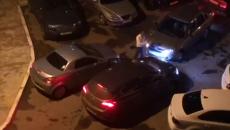 В Смоленске вульгарную «королеву стоянки» сняли на видео