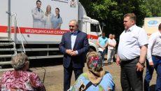 Сергей Неверов оценил работу медицинского комплекса «Здоровье Смоленщины».