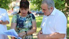 Сергей Неверов ознакомился с лучшим проектом благоустройства Вязьмы