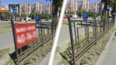 В Смоленске демонтировали несколько десятков незаконных рекламных конструкций
