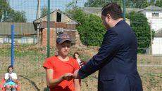 Алексей Островский открыл новую спортплощадку для Починковской школы-интерната