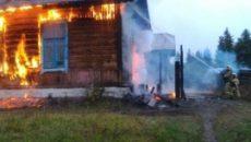 Под Смоленском произошел пожар в жилом доме