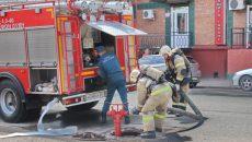 В Смоленске произошел пожар. Есть пострадавший