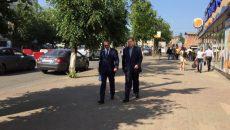 Алексей Островский поручил ускорить ремонт трамвайных путей в Смоленске