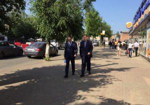 Алексей Островский подвел итоги рабочей поездки по Смоленску