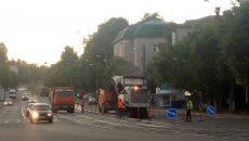 В Смоленске начали ремонт на одной из загруженных улиц
