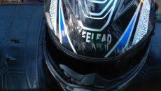 Очевидцы рассказали об обстоятельствах жесткой аварии с мотоциклистом в Смоленске