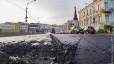 В Смоленске продолжается масштабный ремонт дорог