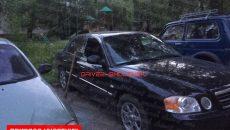 В Смоленске пьяные хулиганы разнесли иномарку на Киселевке