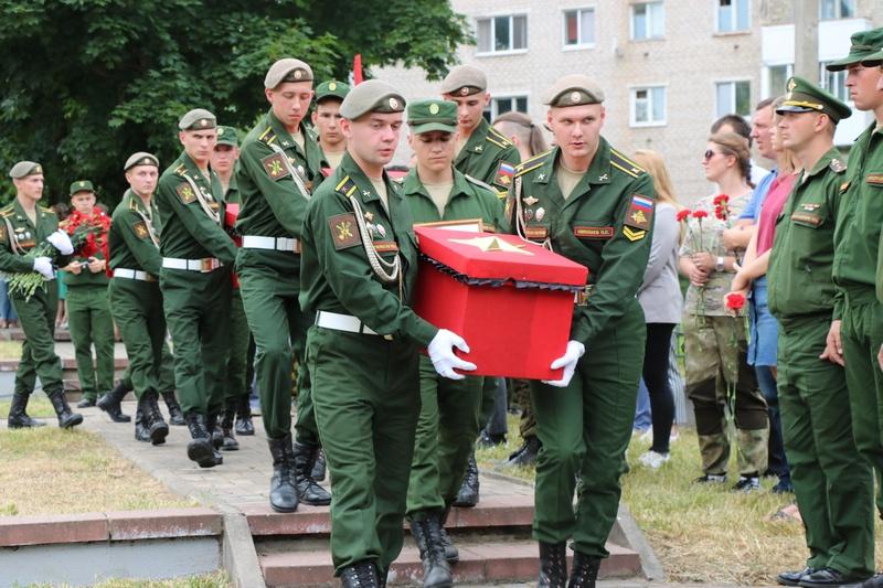 В Смоленске простились с неизвестными солдатами