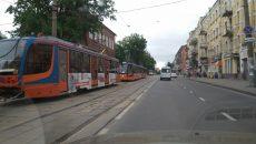 В Смоленске поломка привела к трамвайной «пробке»