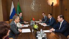 Алексей Островский договорился об увеличении объемов кредитования для смоленских производителей