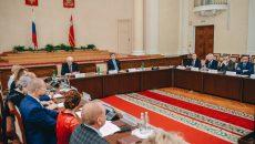 Алексей Островский принял участие в первом заседании нового состава областной Общественной палаты