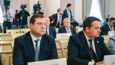 Алексей Островский принял участие во встрече со спикерами верхних палат парламентов России и Белоруссии