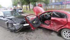 В Смоленске ГИБДД назвала виновника серьёзной аварии с BMW