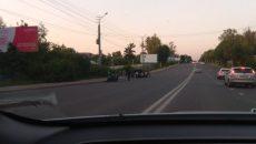 В Смоленске мотоциклист попал в ДТП на улице Шевченко