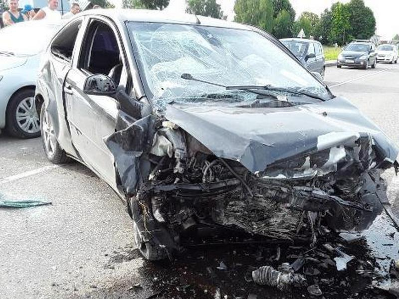 ДТП 22.07.2019, Гагаринский район, Ford Focus (фото гибдд.рф)