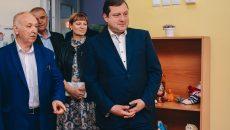 Алексей Островский проинспектировал стройку первого на Смоленщине агрогородка