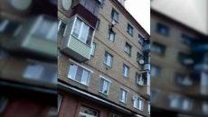 Под Смоленском падение молодого человека с пятого этажа сняли на видео