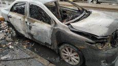 В МЧС назвали вероятную причину возгорания авто на площади Желябова в Смоленске