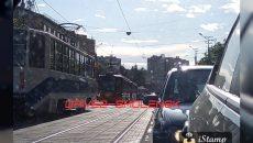 В Смоленске прекратилось движение трамваев