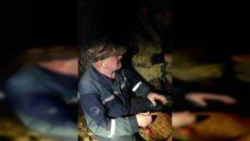 Смоленские спасатели-добровольцы сняли на видео ночную эвакуацию потерявшегося грибника