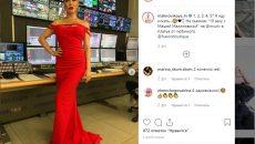 Смоленская теледива Малиновская в очередной раз вернулась на «Муз-ТВ»