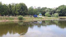 В Смоленске приступили к очистке озера в одном из парков — соцсети