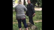 В Смоленске отлов домашней собаки ветслужбой сняли на видео
