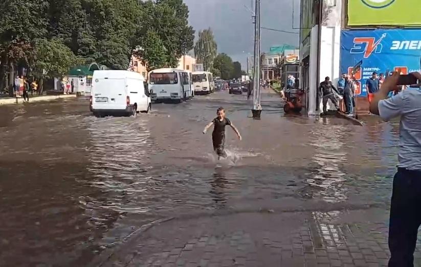 потоп Рославль
