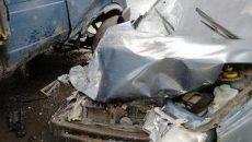Момент жуткого ДТП под Смоленском с тремя пострадавшими сняли на видео