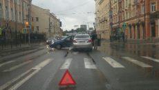 В центре Смоленска авария собрала огромную пробку